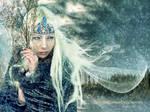 Winter spirit by Le-Regard-des-Elfes