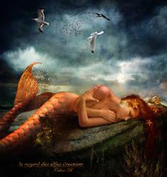 Sirene's tear by Le-Regard-des-Elfes