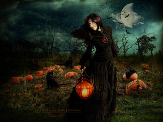 Samhain's night by Le-Regard-des-Elfes