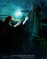 Eirinn's grief by Le-Regard-des-Elfes