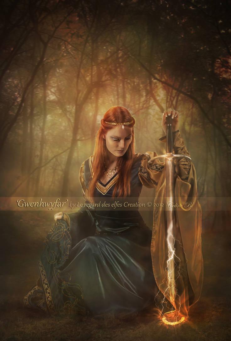 Gwenhwyfar by Le-Regard-des-Elfes