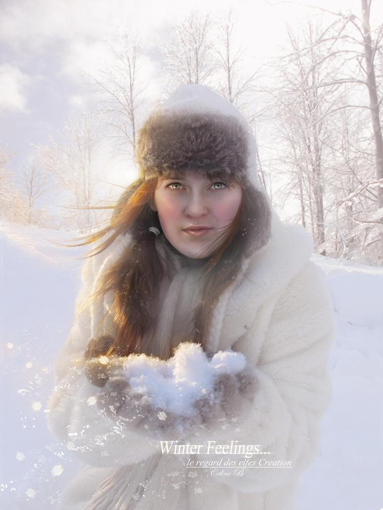Winter Feelings By Le-Regard-des-Elfes On DeviantArt