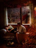 Magical Night by Le-Regard-des-Elfes