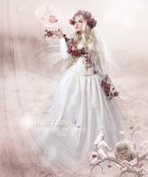 Winter Fairy by Le-Regard-des-Elfes