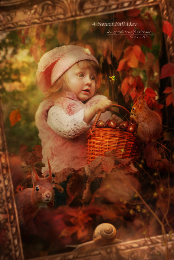 A Sweet Fall Day by Le-Regard-des-Elfes