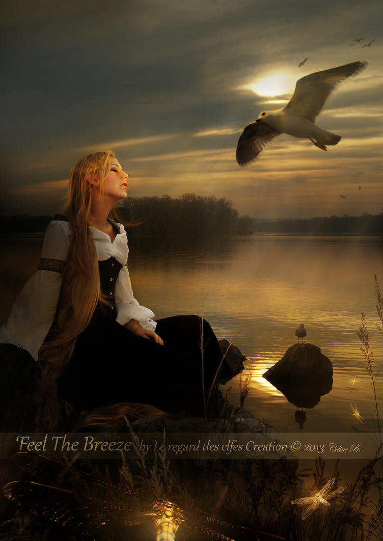 Feel The Breeze by Le-Regard-des-Elfes