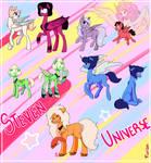 Steven Universe - Ponified gems