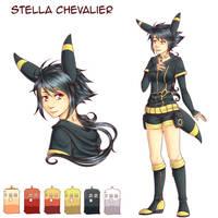 [Y] Fiche Personnage - Stella Chevalier by Buttea
