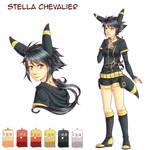 [Y] Fiche Personnage - Stella Chevalier