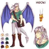[Y] Fiche Personnage - Hiroki by Buttea