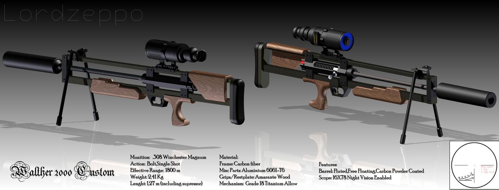 Walther 2000 Custom WA2000 by lordzeppo