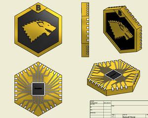 BadWolf's Medal - ATMEGA328P