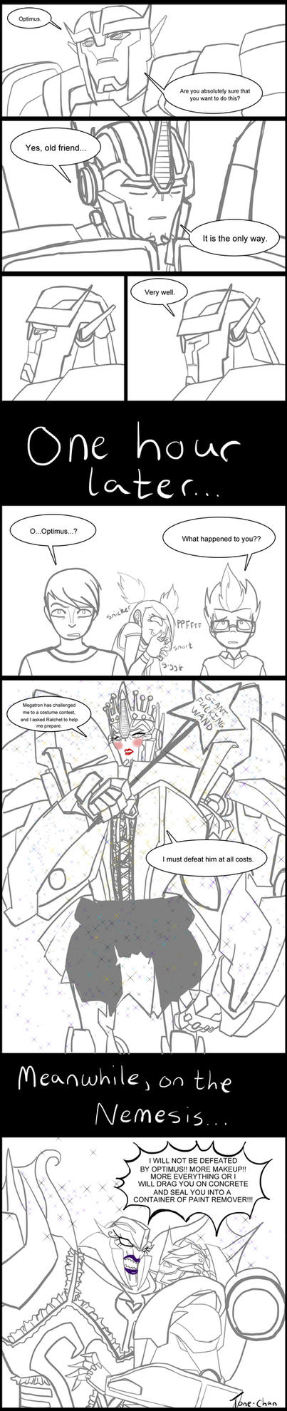 TFP Halloween: Who would win this costume contest? by Tone-chan