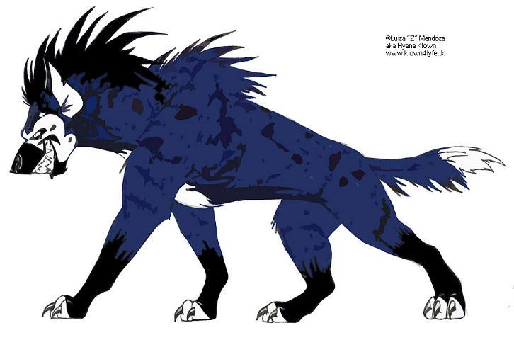 hyena fursona