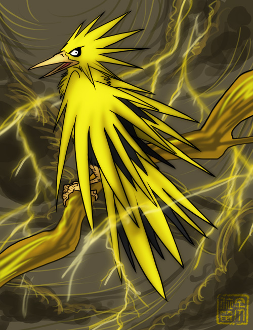 Trade Commission - Zapdos by Kiriska