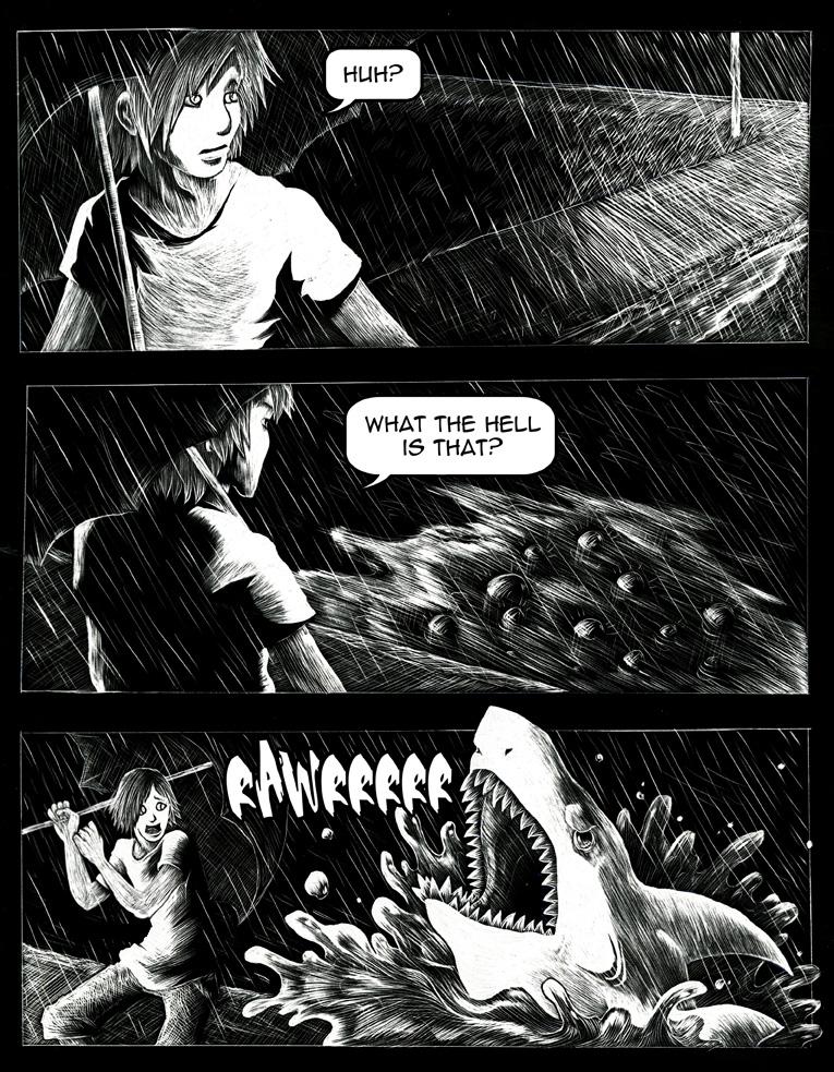 Rawr Shark by Kiriska