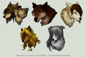 Avatar Commission Batch 2 by Kiriska