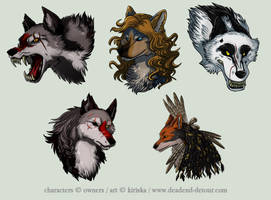 Avatar Commission Batch 3 by Kiriska