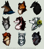 Avatar Commission Batch 4 by Kiriska
