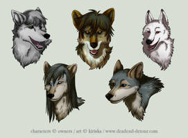 Avatar Commission Batch 5 by Kiriska