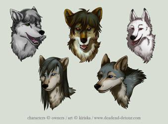 Avatar Commission Batch 5 by Kiriska