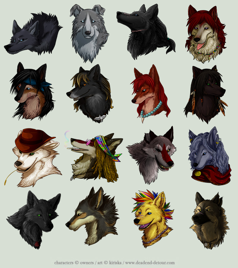 Avatar Commission Batch 7 by Kiriska
