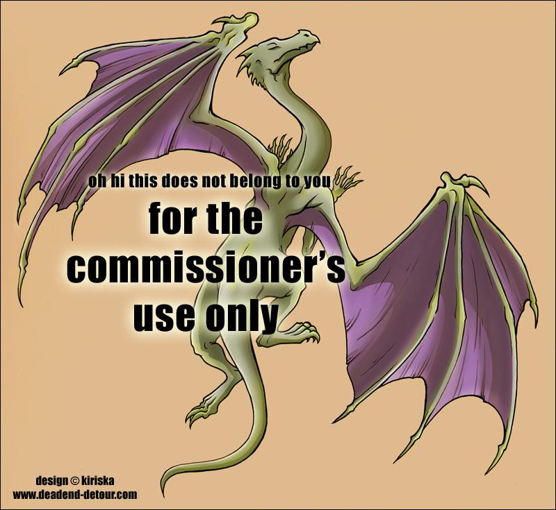 Commission - Dragon Tattoo by Kiriska