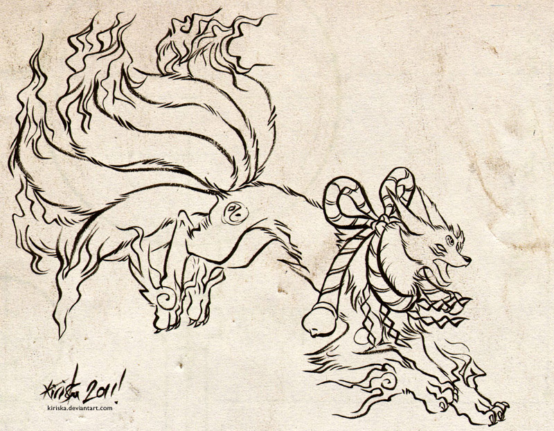 Kyuubimon Inks by Kiriska