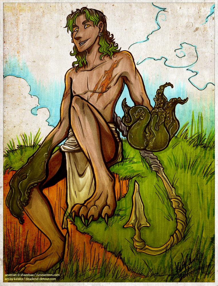 Severian on the Hill by Kiriska