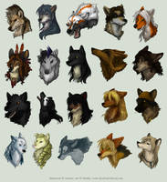 Avatar Commission Batch 11 by Kiriska