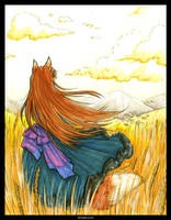 Wheat Fields by Kiriska
