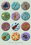 Music Buttons by Kiriska