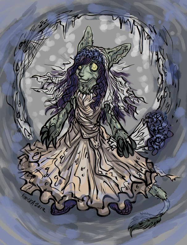 Undead Bori Flower Girl by Kiriska