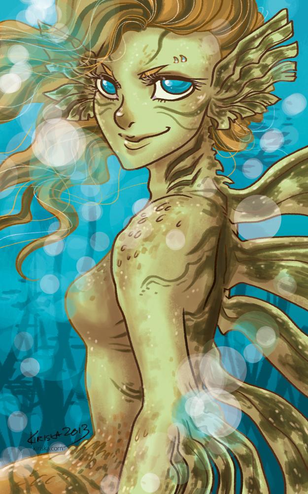 Lionfish Mermaid by Kiriska