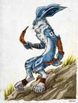 The Easter Bunny by Kiriska