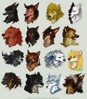 SoSuWriMo 2013 Avatar Batch by Kiriska