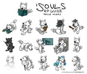 'Souls RP Guide Pups by Kiriska