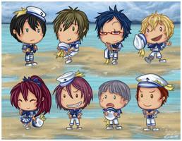 They Sell Seashells by the Seashore by Kiriska