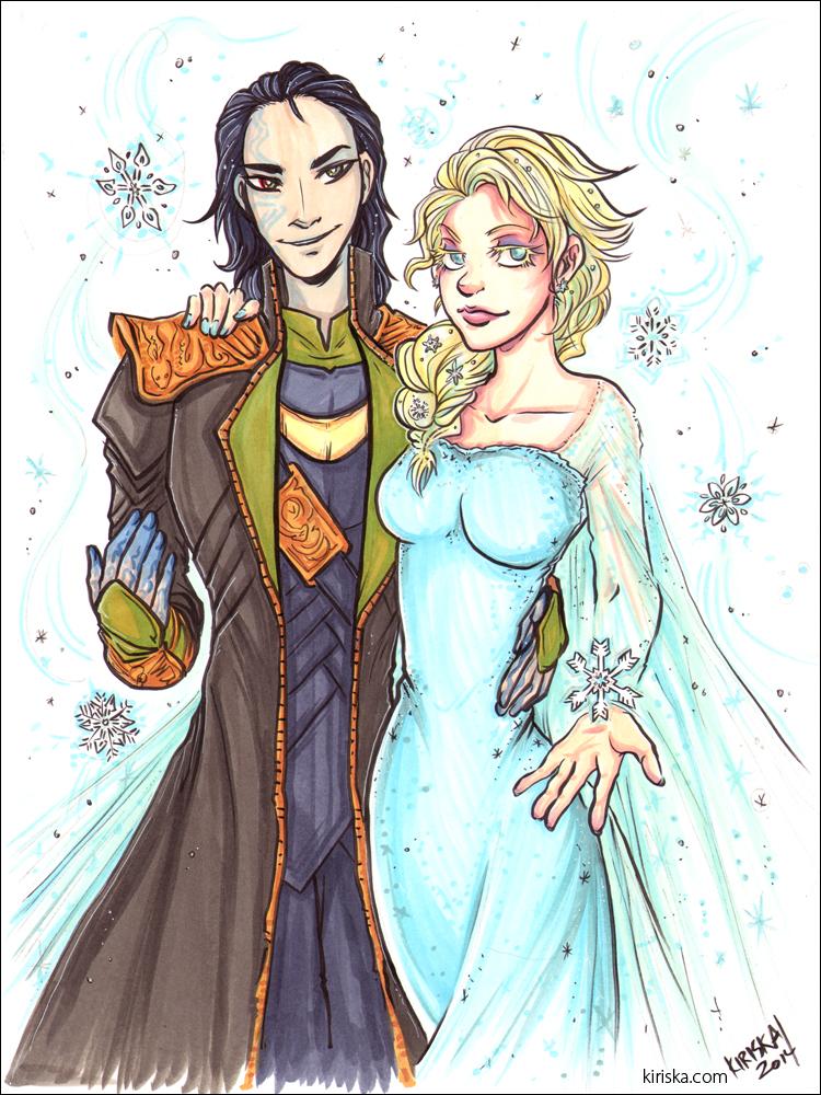 Frost and Frozen by Kiriska