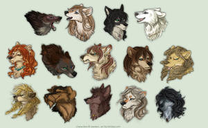 SoSuWriMo 2014 Avatar Batch by Kiriska