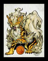 Fire Guardian by Kiriska