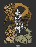 the quick brown fox by Kiriska