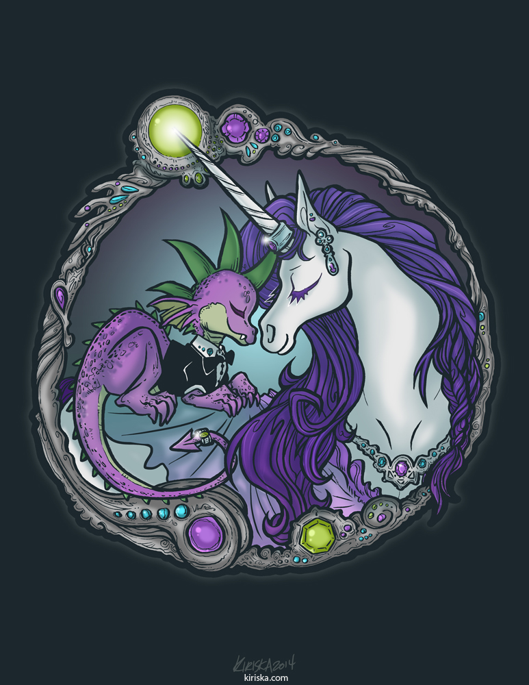 dragon and unicorn pictures