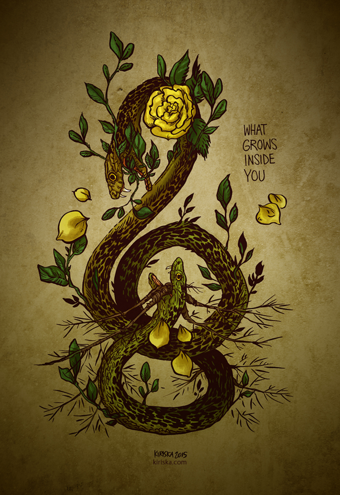 WHAT GROWS INSIDE YOU by Kiriska