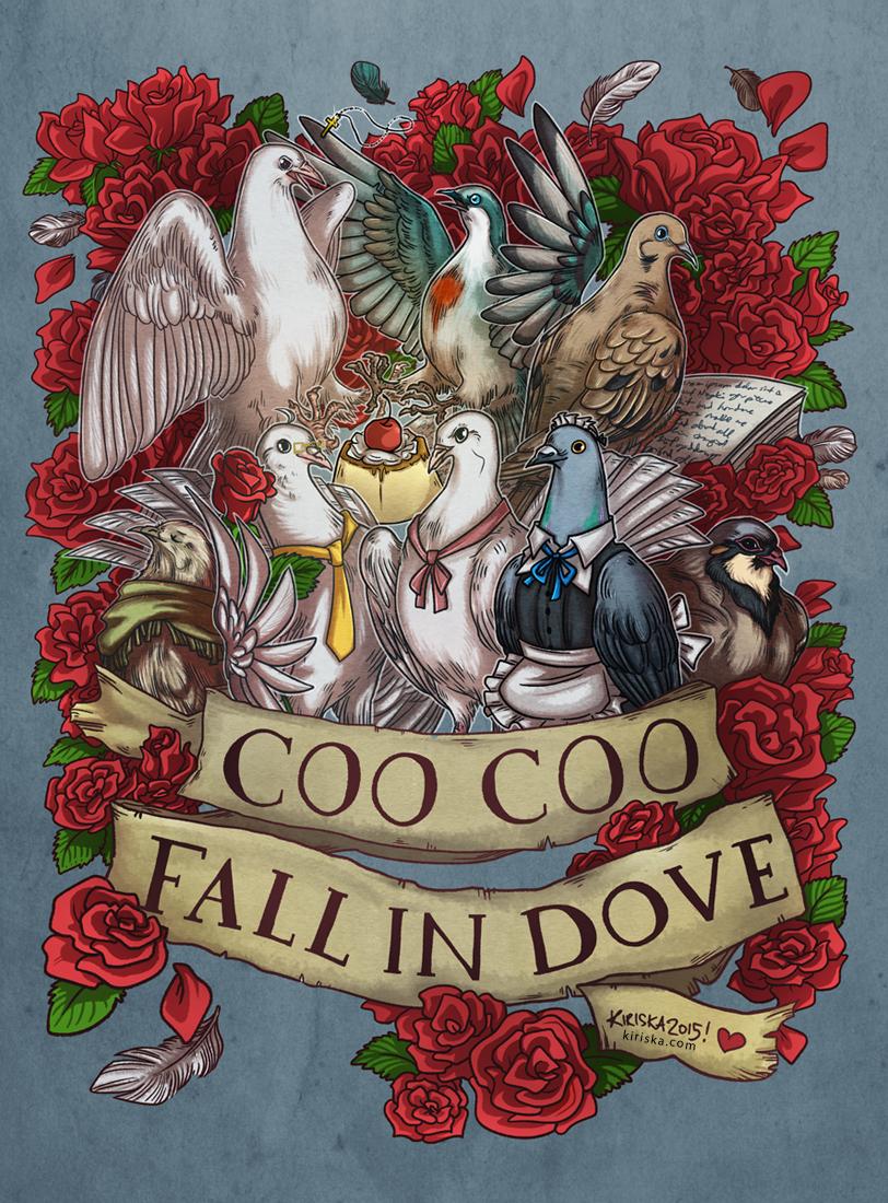 Fall in Dove by Kiriska