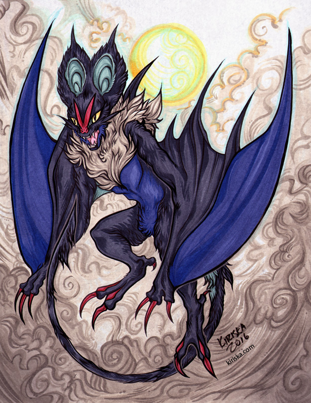 Dragon Bat by Kiriska
