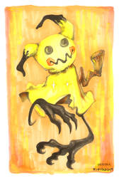 yellow ghost