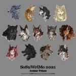 SoSuWriMo 2021 Avatar Batch by Kiriska