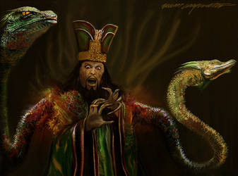 Asian Wizard by BramLeegwater