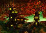 The Autumn Tree House